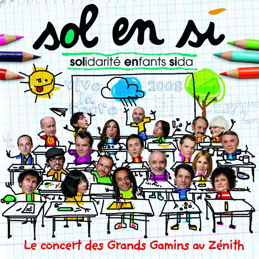 Le concert des grands gamins au Zénith - Sol en Si
