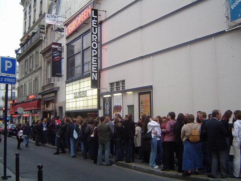 Devanture L'Européen Paris 27.10.2004 Stephanie