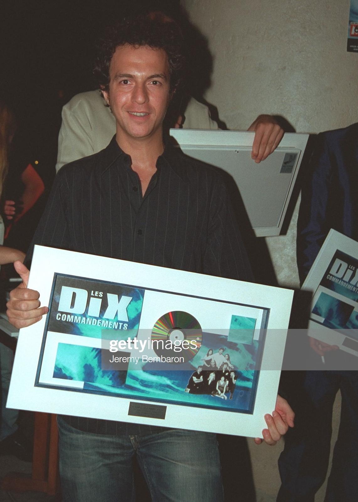 Les 10 Commandements disque de Diamant 02.07.2001