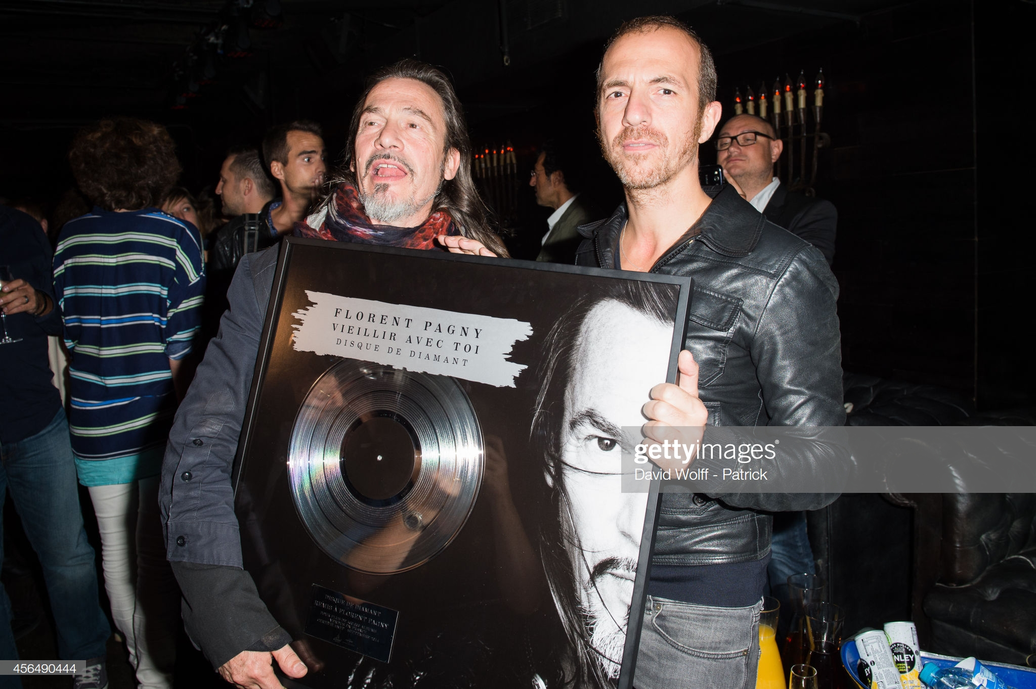 Florent Pagny disque Diamant Vieillir avec toi 01.10.2014