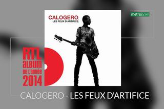 ALBUM RTL DE L'ANNEE POUR LES FEUX D'ARTIFICE - 20 Novembre 2014
