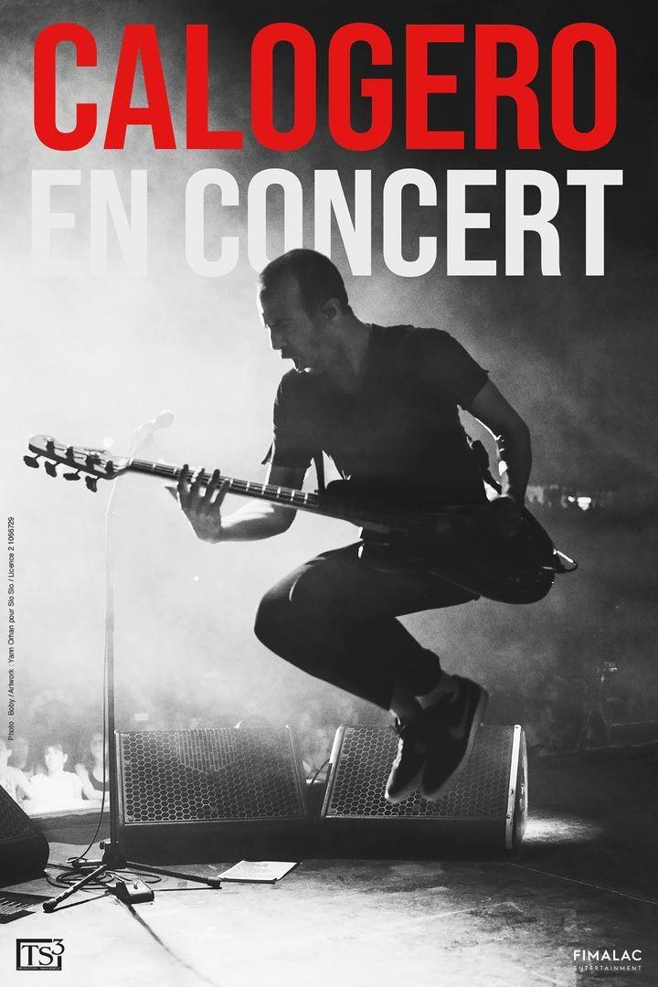 Affiche de la tournée de Calogero Centre ville tour